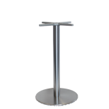 Remy Platinum Disc Table Base