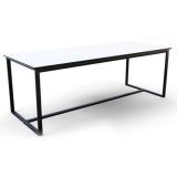 Barcelona Table (Black Frame)