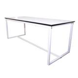 Barcelona Table (White Frame)
