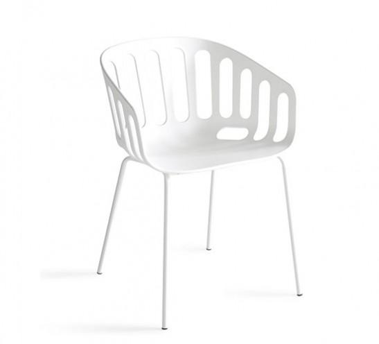 Basket Chair, Metal PC Legs