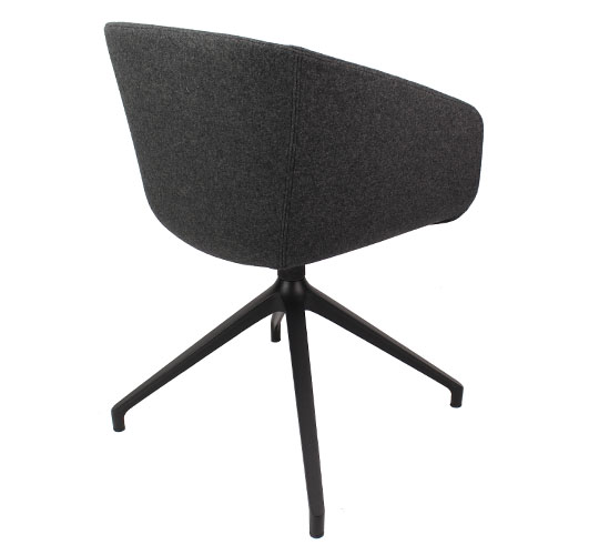 Basket Chair – Fully Upholstered with 4 Star Arch Base