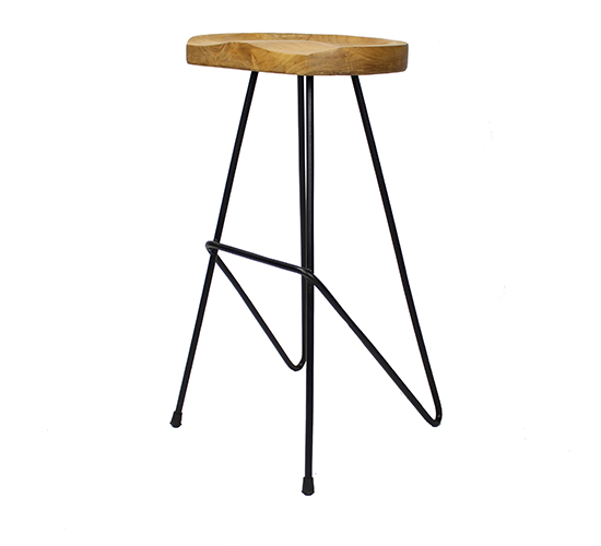 Saddle Stool – 77cmSH