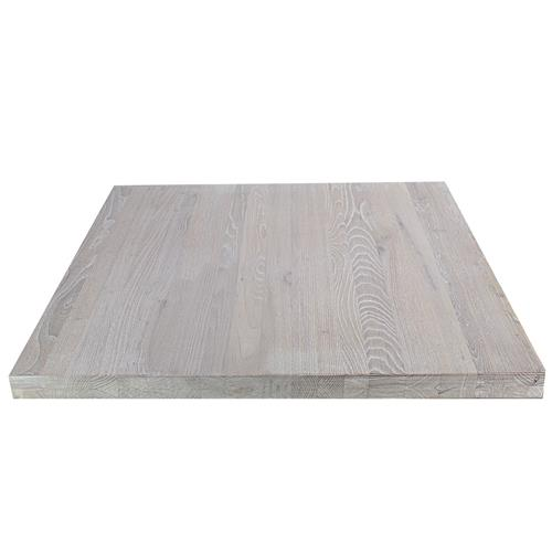 Whitewashed Ash Timber Table Top