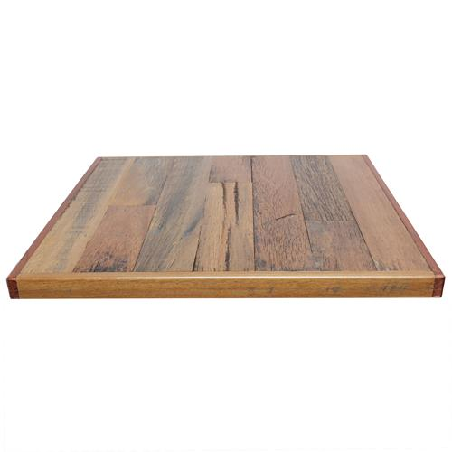 Recycled Australian Hardwood Plank Timber Table Tops