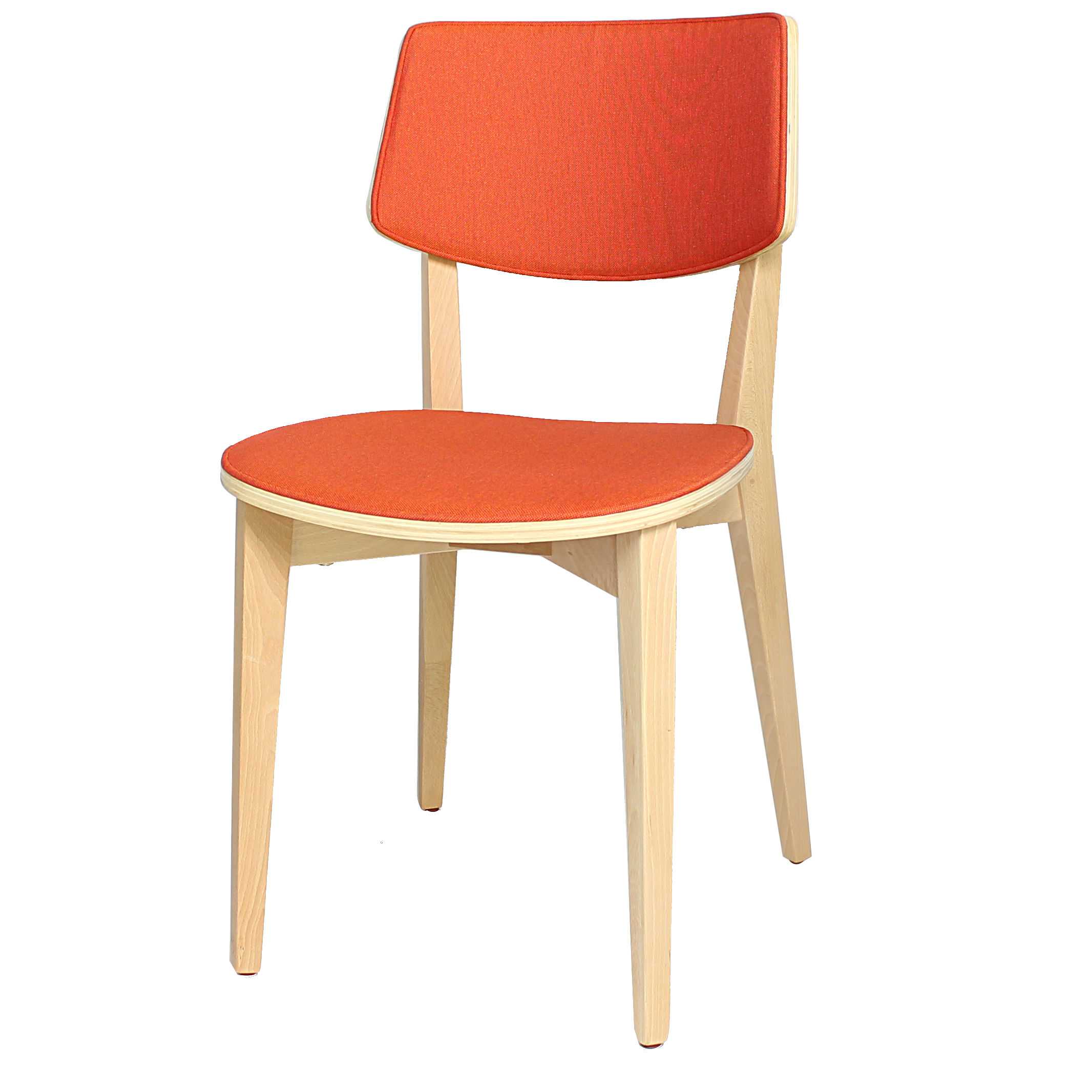 Otto Chair (Upholstered Seat and Back Pad)