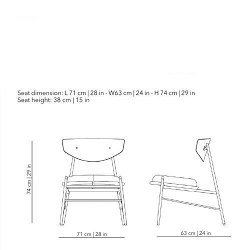 Kink Lounge Chair