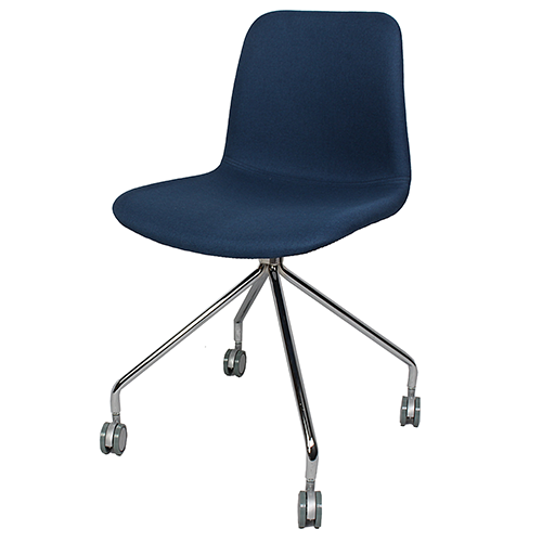 Arco Chair – 4 Star Fixed Base with Castors (Upholstered)