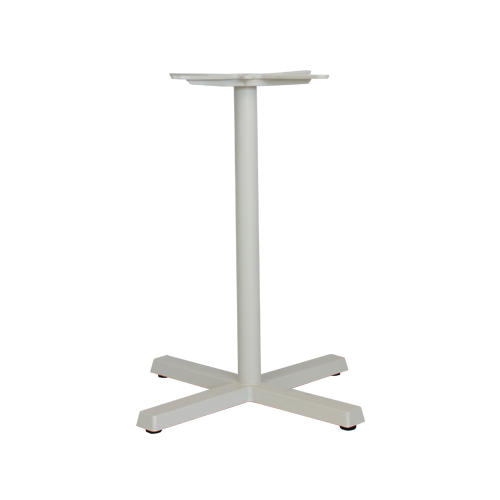 Concorde Table Base – White Powdercoated