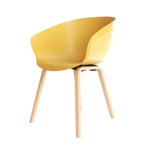 Arn Tub Chair with Natural Loop Timber Legs