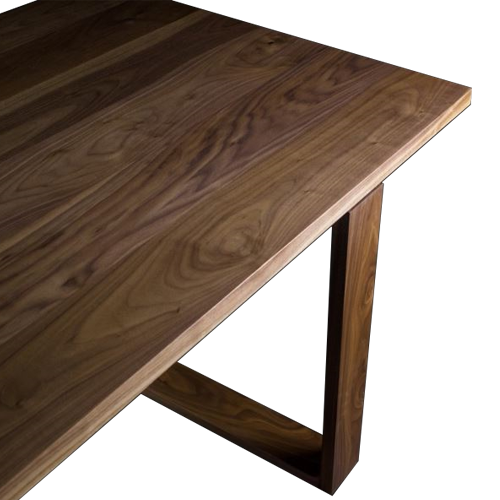 Industrie Table with Timber Base
