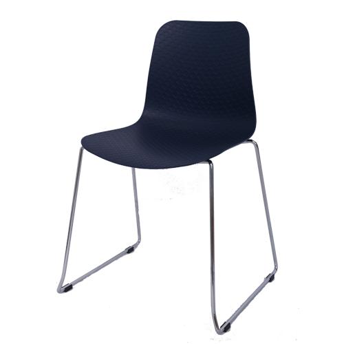 Arco Chair – Sled Base – Nude Polypropylene Shell